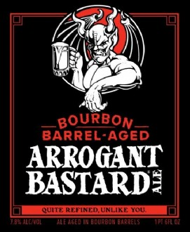 Arrogant Bastard  - Bourban Barrel