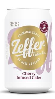Cherry Infused Cider - Cans - 12 packs