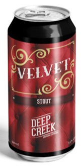 Velvet Stout - Limited Rel. - Can