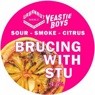 Brucing with Stu - Yeastie Boys Collab.