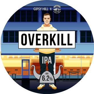 "Overkill ""WarPigs Collab""  - Keg"