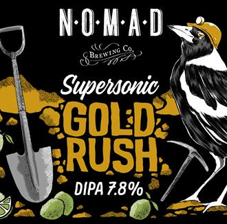 "SuperSonic DIPA - ""Gold Rush"" - Kegstar"