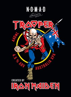 Trooper XPA - Iron Maiden Official Beer - 50litre Kegstar
