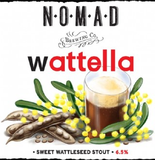 Wattella - Sweet Nutty Stout - CAN 500ml