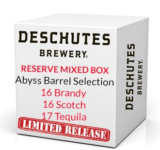 Abyss Cellar Release Box - 2016 Brandy , Scotch & 2017 Tequila