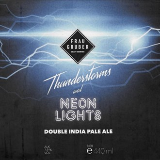 Thunderstorm & Neon Lights- Keg