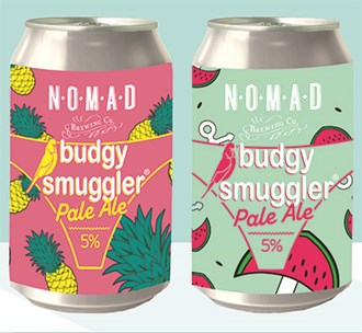 Budgy Smuggler Pale - Can (4 packs)