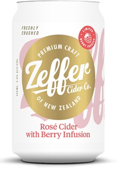 Rosé Cider with Berries Infusion - Cans - 24 packs